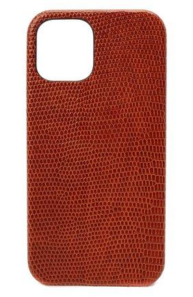 Чехол для iphone 12 pro 2MESTYLE коричневого цвета, арт. DD414/VNIL | Фото 1