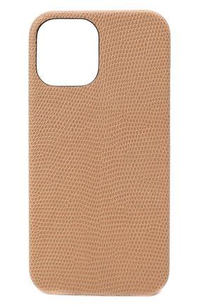 Чехол для iphone 12 pro max 2MESTYLE бежевого цвета, арт. DD413/VNIL | Фото 1