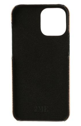 Чехол для iphone 12 pro max 2MESTYLE бежевого цвета, арт. DD413/VNIL | Фото 2