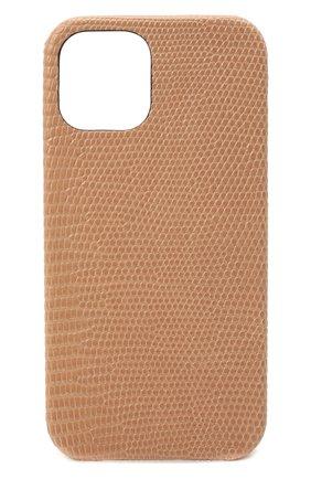 Чехол для iphone 12 pro 2MESTYLE бежевого цвета, арт. DD412/VNIL | Фото 1