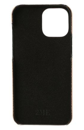 Чехол для iphone 12 pro 2MESTYLE бежевого цвета, арт. DD412/VNIL | Фото 2