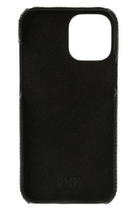 Чехол для iphone 12 pro max 2MESTYLE черного цвета, арт. DD411/VNIL | Фото 2