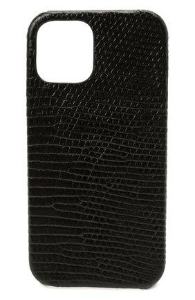 Чехол для iphone 12 pro 2MESTYLE черного цвета, арт. DD410/VNIL | Фото 1