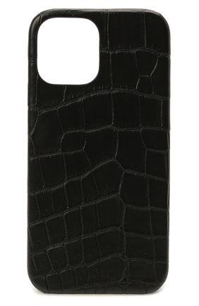 Чехол для iphone 12 pro max 2MESTYLE черного цвета, арт. DD367/AMIS | Фото 1