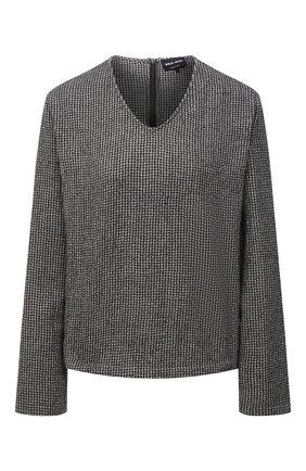 Женский пуловер из шерсти и кашемира GIORGIO ARMANI коричневого цвета, арт. 1WHCC01G/T02N7   Фото 1