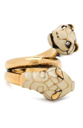 Женское кольцо tigerhead GUCCI золотого цвета, арт. 402269/I6656 | Фото 1