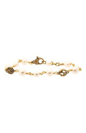 Женский браслет GUCCI золотого цвета, арт. 664352/I4620 | Фото 1
