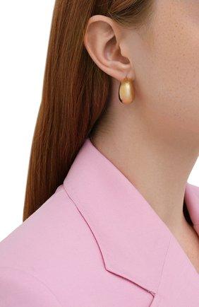 Женские серьги ISABEL MARANT золотого цвета, арт. BL1098-21A032B | Фото 2