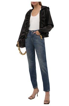 Женская кожаная куртка TOM FORD черного цвета, арт. CSL682-LEX228 | Фото 2
