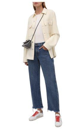 Женские кожаные кеды andy-d PREMIATA белого цвета, арт. ANDYD/VAR5427 | Фото 2