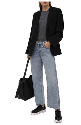 Женские кожаные кеды belle PREMIATA черного цвета, арт. BELLE/VAR5382 | Фото 2