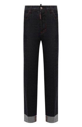 Женские джинсы DSQUARED2 темно-синего цвета, арт. S75LB0549/S30485 | Фото 1