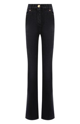 Женские джинсы BALMAIN черного цвета, арт. WF1MJ025/D134   Фото 1