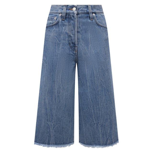 Джинсовые шорты Dries Van Noten