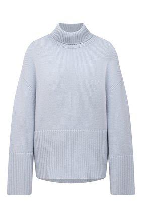 Женский кашемировый свитер TOTÊME голубого цвета, арт. 213-562-763 | Фото 1