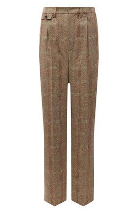 Женские кашемировые брюки LORO PIANA бежевого цвета, арт. FAL8084   Фото 1