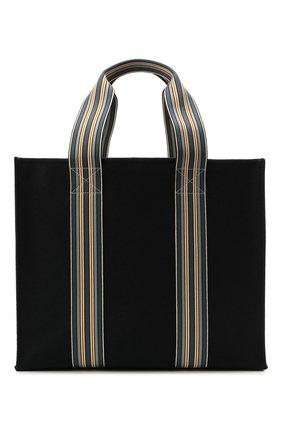 Женский сумка-шопер suitcase stripe LORO PIANA голубого цвета, арт. FAL2357   Фото 1 (Материал: Текстиль; Сумки-технические: Сумки-шопперы; Размер: large)