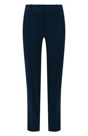 Женские кашемировые брюки LORO PIANA синего цвета, арт. FAI8499   Фото 1