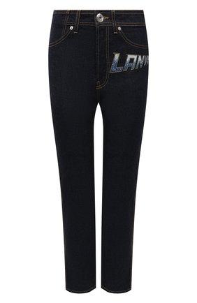 Женские джинсы LANVIN темно-синего цвета, арт. RW-TR0030-D021-A21 | Фото 1