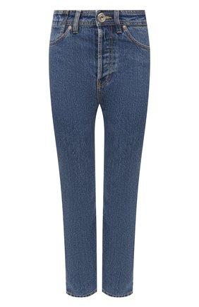 Женские джинсы LANVIN голубого цвета, арт. RW-TR0030-D009-A21 | Фото 1