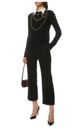 Женский свитер LANVIN черного цвета, арт. RW-P00050-K008-A21 | Фото 2