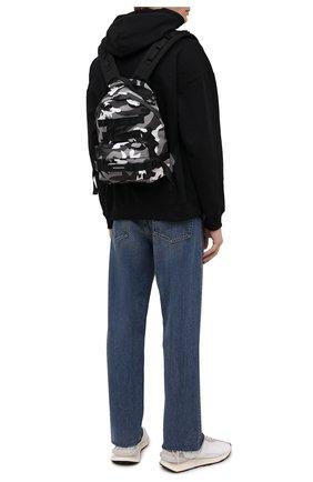 Мужской текстильный рюкзак army BALENCIAGA черного цвета, арт. 644031/2VZH7   Фото 2 (Ремень/цепочка: На ремешке; Материал: Текстиль)