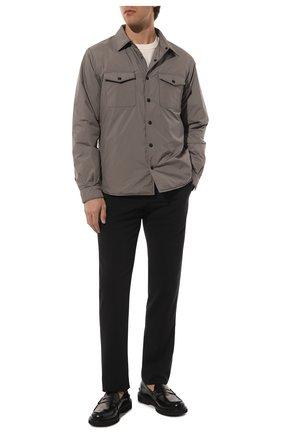 Мужские кожаные пенни-лоферы PREMIATA черного цвета, арт. 30876/REAL | Фото 2