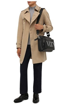 Мужские кожаные челси PREMIATA черного цвета, арт. 31701/B0X BRASS | Фото 2