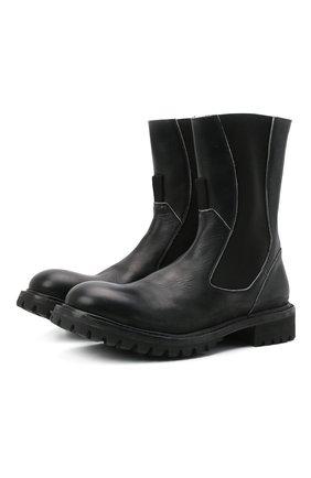 Мужские кожаные челси PREMIATA черного цвета, арт. 31923/BARBITH BRASS | Фото 1