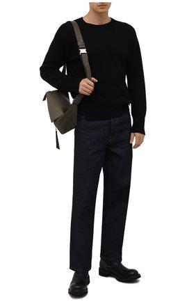 Мужские кожаные челси PREMIATA черного цвета, арт. 31923/BARBITH BRASS | Фото 2