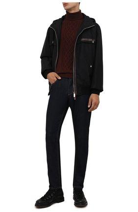 Мужские кожаные ботинки PREMIATA черного цвета, арт. 339P/VINZ | Фото 2