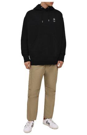 Мужские кожаные кеды andy PREMIATA белого цвета, арт. ANDY/VAR5423 | Фото 2 (Подошва: Плоская; Материал внутренний: Натуральная кожа)