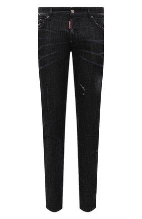 Мужские джинсы DSQUARED2 черного цвета, арт. S71LB0967/S30357   Фото 1