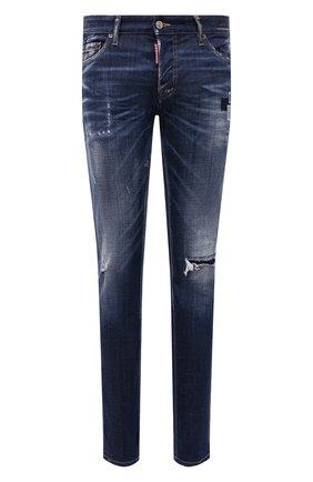 Мужские джинсы DSQUARED2 синего цвета, арт. S71LB0938/S30342 | Фото 1