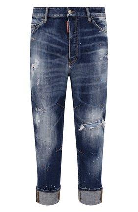Мужские джинсы DSQUARED2 синего цвета, арт. S74LB0958/S30342 | Фото 1