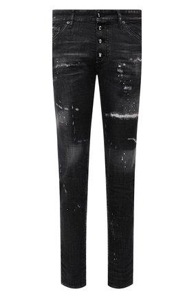 Мужские джинсы DSQUARED2 темно-серого цвета, арт. S79LA0031/S30357 | Фото 1