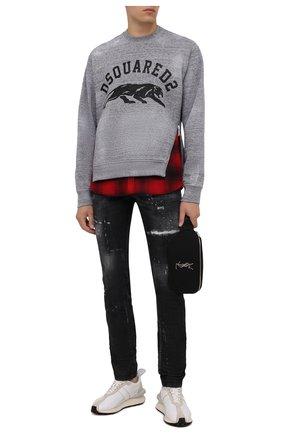 Мужские джинсы DSQUARED2 темно-серого цвета, арт. S79LA0031/S30357 | Фото 2