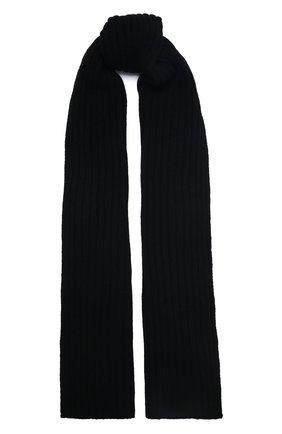 Мужской кашемировый шарф INVERNI черного цвета, арт. 5003 SM   Фото 1