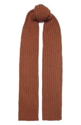 Мужской кашемировый шарф INVERNI светло-коричневого цвета, арт. 5003 SM   Фото 1 (Материал: Кашемир, Шерсть; Кросс-КТ: кашемир)