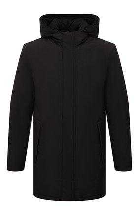 Мужская утепленная куртка CORNELIANI черного цвета, арт. 8825G4-1820149/00 | Фото 1