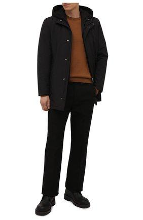 Мужская утепленная куртка CORNELIANI черного цвета, арт. 8825G4-1820149/00 | Фото 2