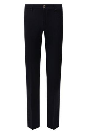 Мужские шерстяные брюки CORNELIANI темно-синего цвета, арт. 884702-1818400/00 | Фото 1
