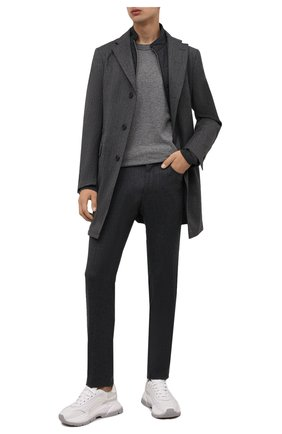 Мужские шерстяные брюки CORNELIANI темно-серого цвета, арт. 884702-1818400/00 | Фото 2