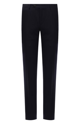 Мужские шерстяные брюки CORNELIANI темно-синего цвета, арт. 885B01-1818111/02 | Фото 1