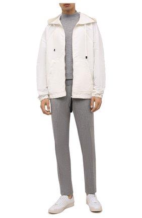 Мужские шерстяные брюки CORNELIANI серого цвета, арт. 885B01-1818111/02 | Фото 2