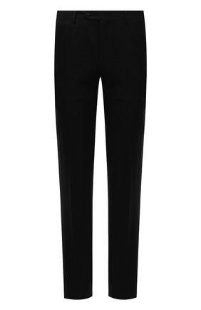 Мужские шерстяные брюки CORNELIANI черного цвета, арт. 885B01-1818111/02 | Фото 1