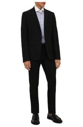 Мужские шерстяные брюки CORNELIANI черного цвета, арт. 885B01-1818111/02 | Фото 2
