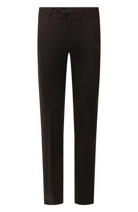 Мужские шерстяные брюки CORNELIANI коричневого цвета, арт. 885B01-1818111/02 | Фото 1