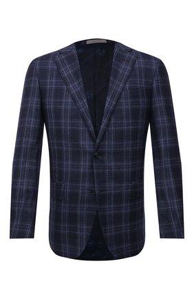 Мужской шерстяной пиджак CORNELIANI синего цвета, арт. 886268-1816227/90 Q1 | Фото 1