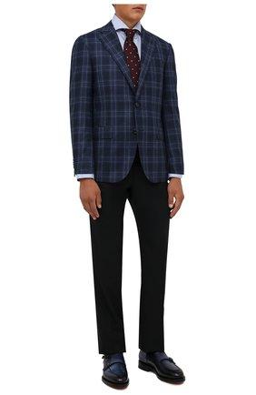 Мужской шерстяной пиджак CORNELIANI синего цвета, арт. 886268-1816227/90 Q1 | Фото 2